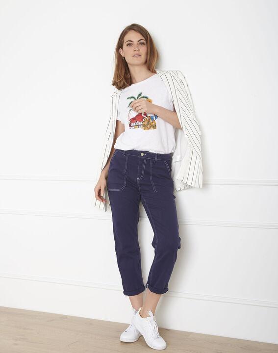 Indigofarbene Boyfriend-Jeans Cool PhotoZ | 1-2-3