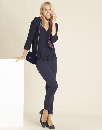 Marineblaue 7/8-jeans opera marineblau.