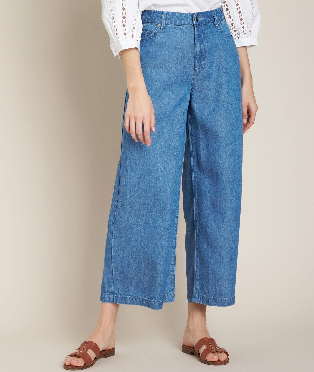 Pantalon en tencel Isidor PhotoZ | 1-2-3