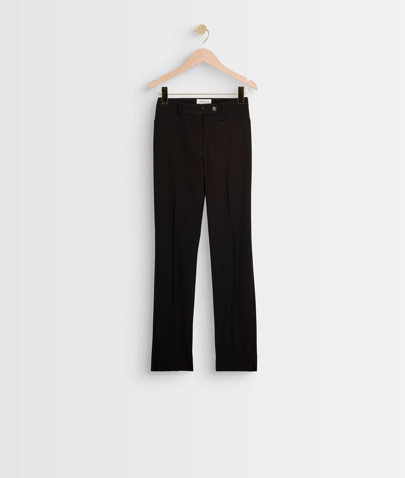 Pantalon en microfibre cigarette Valero PhotoZ | 1-2-3