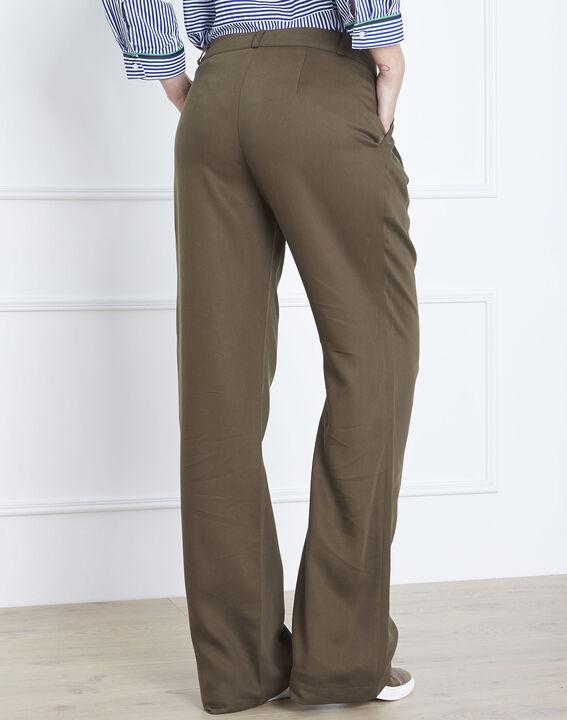 Pantalon kaki large Giovanna (3) - Maison 123