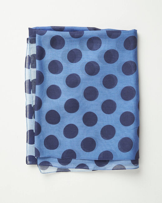 Amandina polka dot faded-effect scarf (1) - 1-2-3