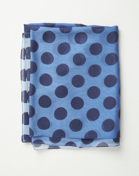 Amandina polka dot faded-effect scarf (2) - 1-2-3