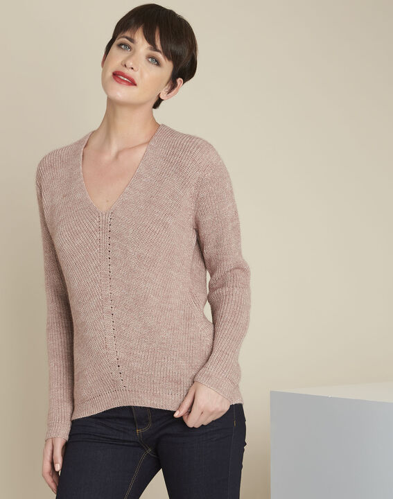 Blush pale pink pullover PhotoZ | 1-2-3