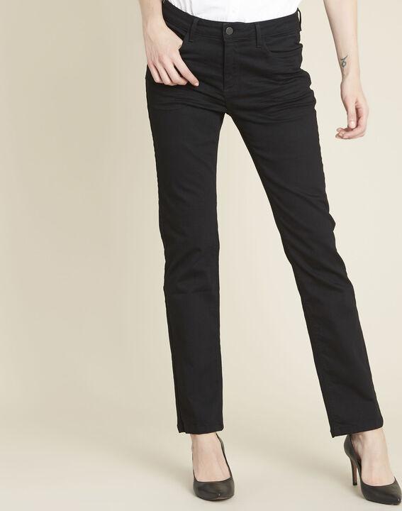 Vivienne straight black jeans PhotoZ | 1-2-3