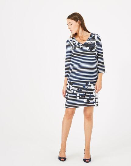 Abysse striped dress (2) - 1-2-3