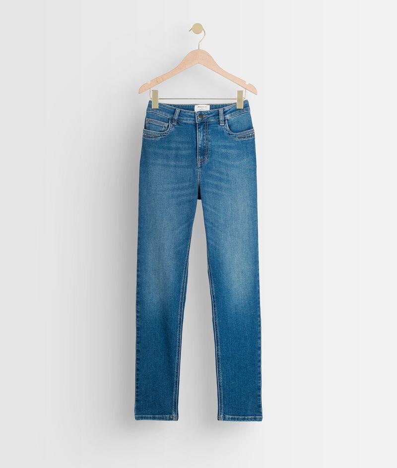 De iconische stone slim-fit jeans met used effect Suzy PhotoZ   1-2-3