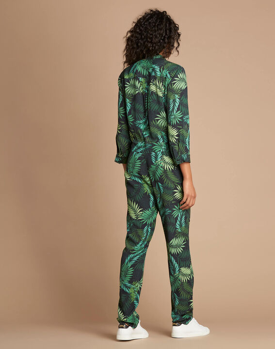 Pacome palm-printed jumpsuit (4) - 1-2-3