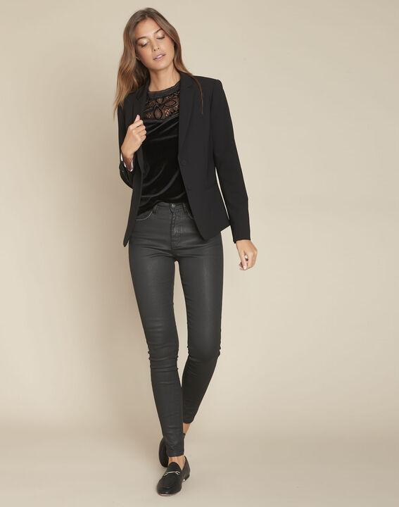 L'iconique : jean slim noir Socrate PhotoZ | 1-2-3