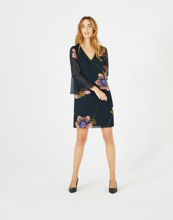 Robe imprimée fleurs Astrid PhotoZ | 1-2-3