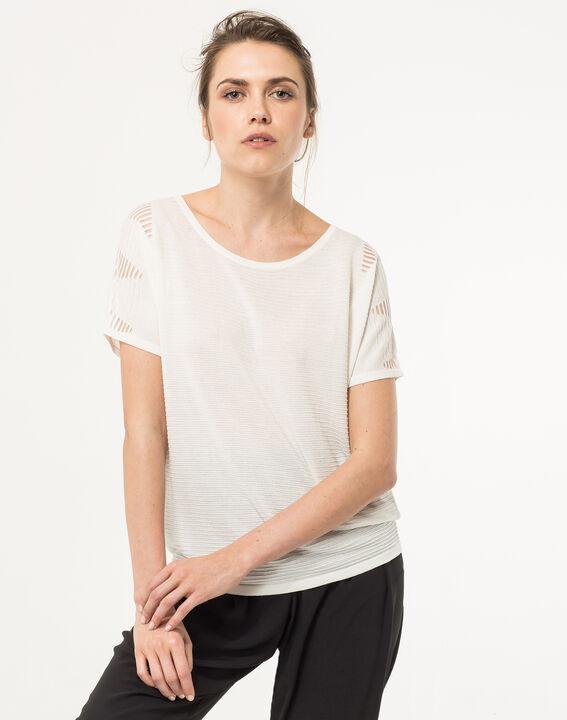 Weißer 3 4-Arm-Pullover Hexagone (1) - 1-2 c360230cf2