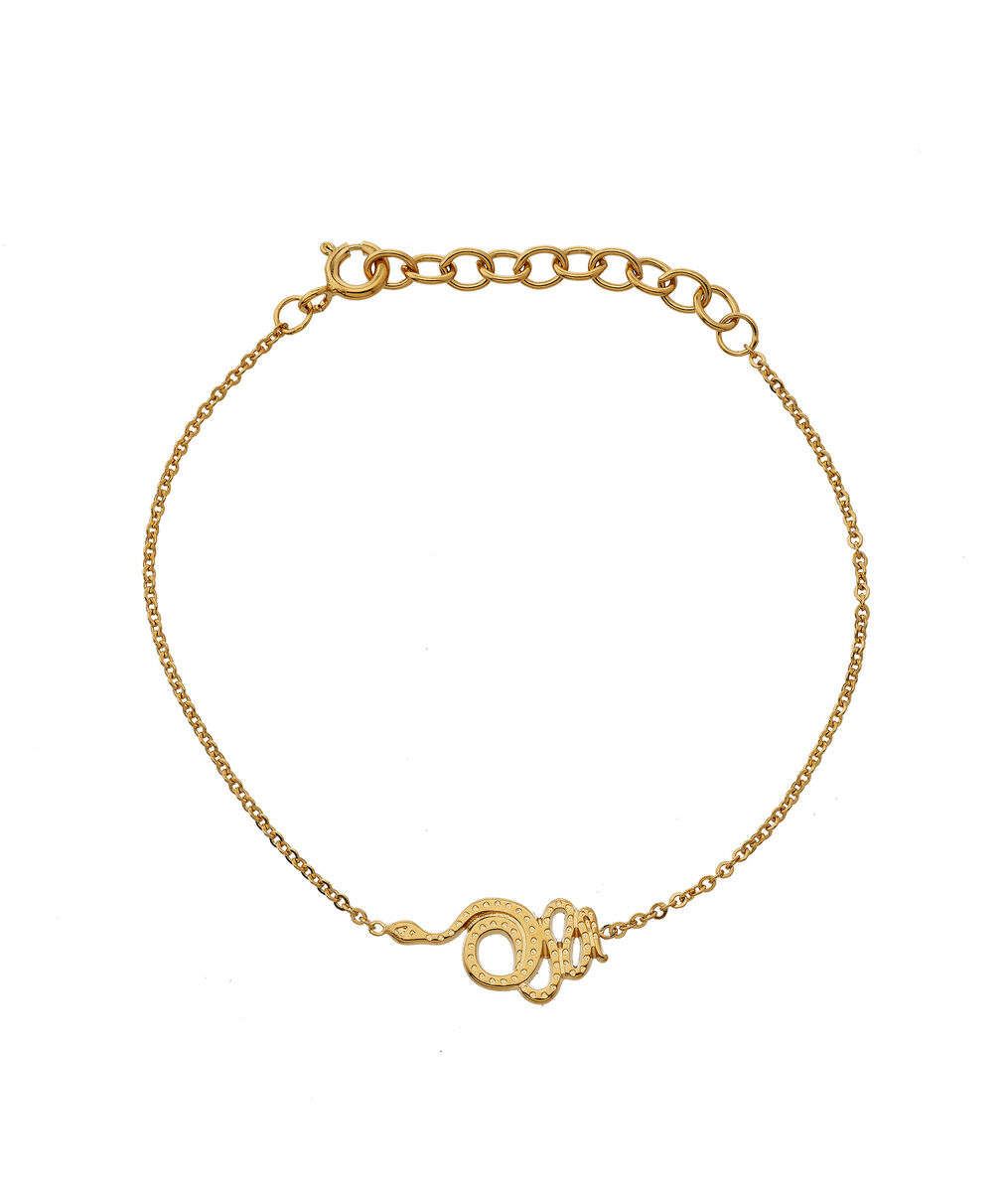Bracelet serpent or Bijoux Léone PhotoZ | 1-2-3