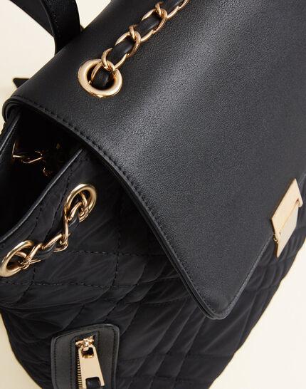 Rachel black quilted bag (3) - 1-2-3