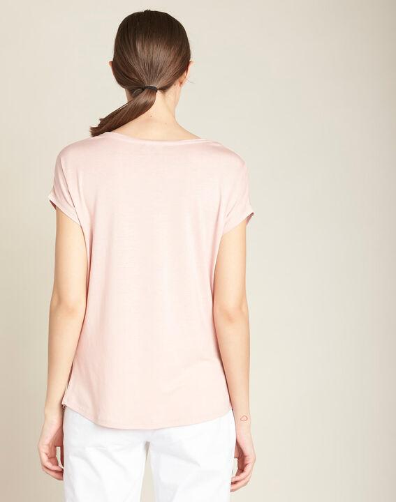 Tee-shirt poudre encolure dégagée Eaven (4) - 1-2-3