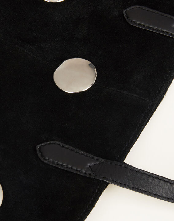Romane black bag with silvery polka dots (3) - 1-2-3