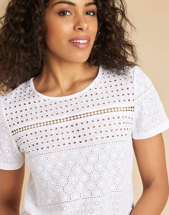 Gdansk white T-shirt with embroidery PhotoZ | 1-2-3
