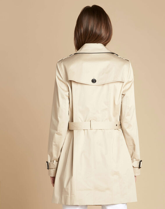 Kate beige braided trench coat (4) - 1-2-3