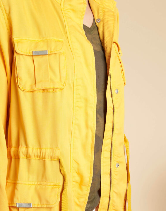 Casa bright yellow jacket with pockets (1) - 1-2-3