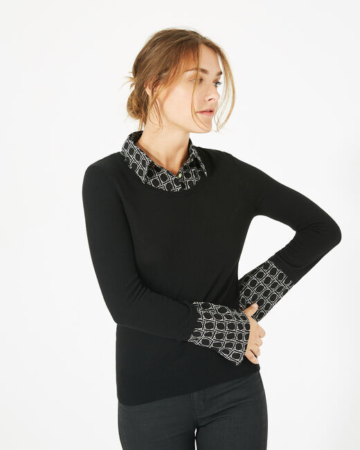 Pull chemise Pepita (1) - 1-2-3