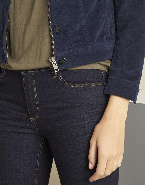 Clem navy velvet jacket (3) - 1-2-3