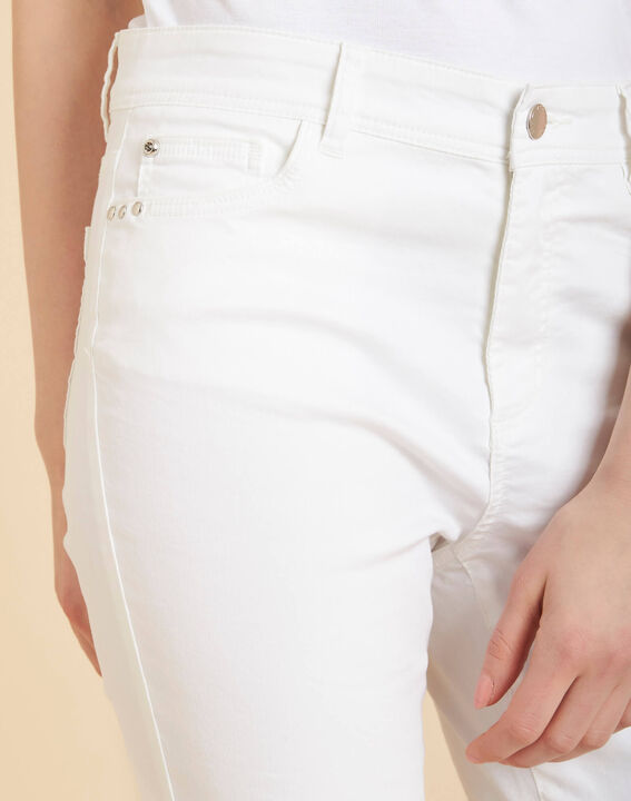 Jean blanc slim enduit taille normale Valley PhotoZ | 1-2-3