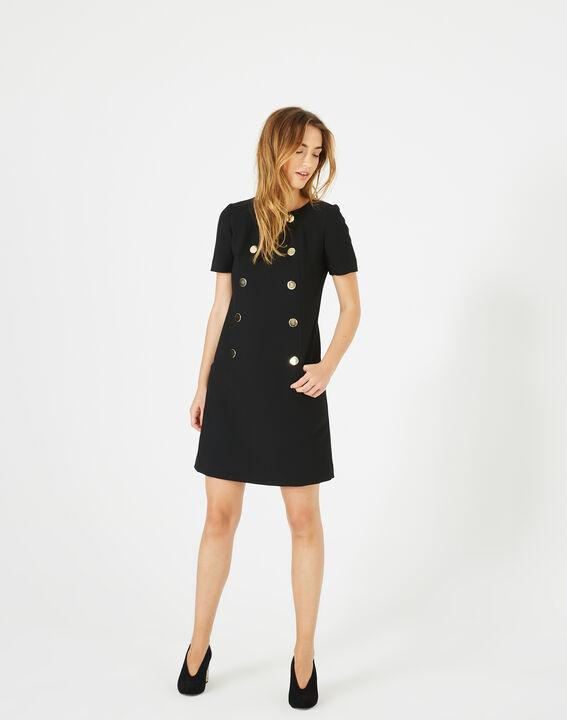 Amanda stylish black dress (2) - 1-2-3