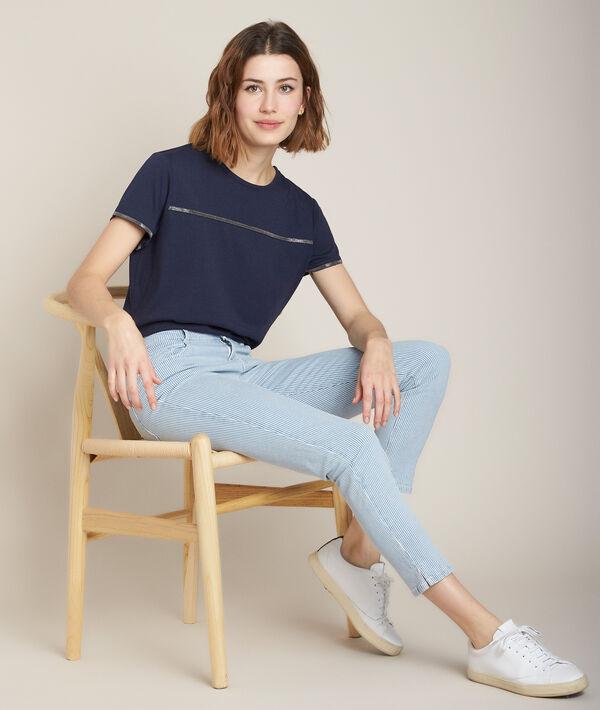 Tee-shirt marine Regal PhotoZ | 1-2-3