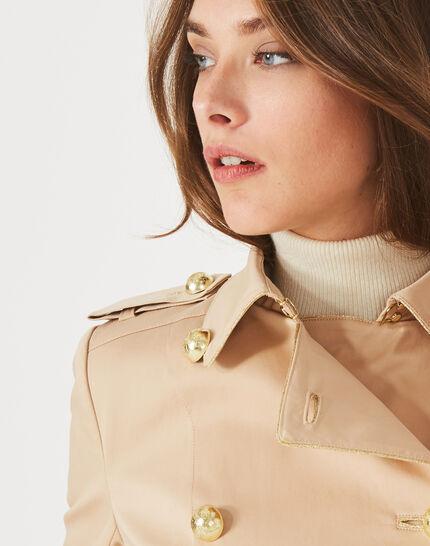 Julie mid-length beige trench coat (4) - 1-2-3