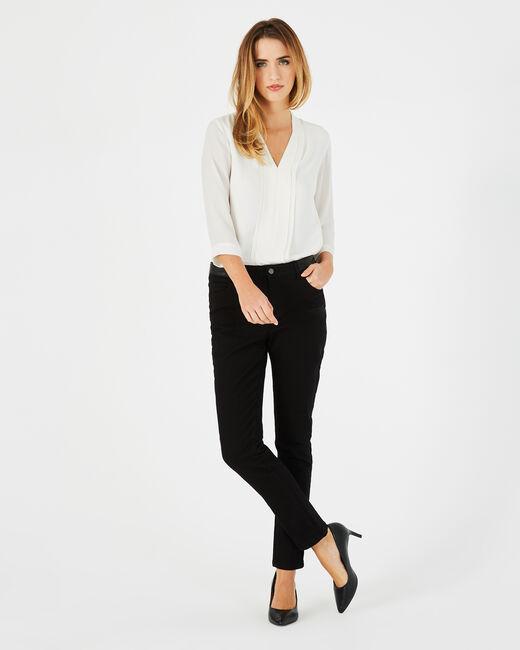 Schwarze 7/8-Jeans mit Phönix-Stickerei Nala (1) - 1-2-3