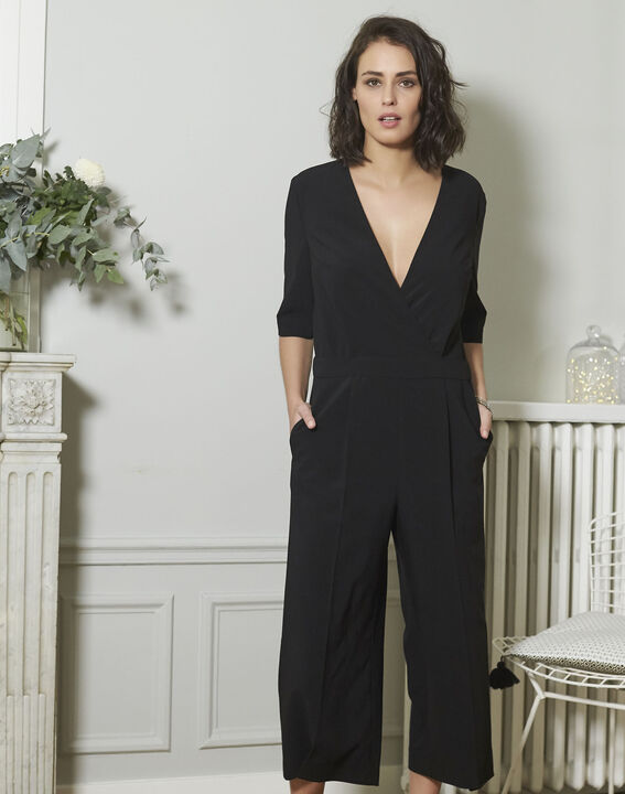 Nouchka Fitted Black Jumpsuit PhotoZ | 1-2-3