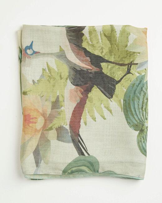 Adenora garden printed scarf (2) - 1-2-3