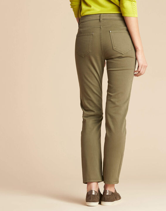 Vendôme slim cut standard size khaki jeans (4) - 1-2-3