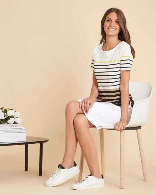 Esayat striped black T-shirt (1) - 1-2-3