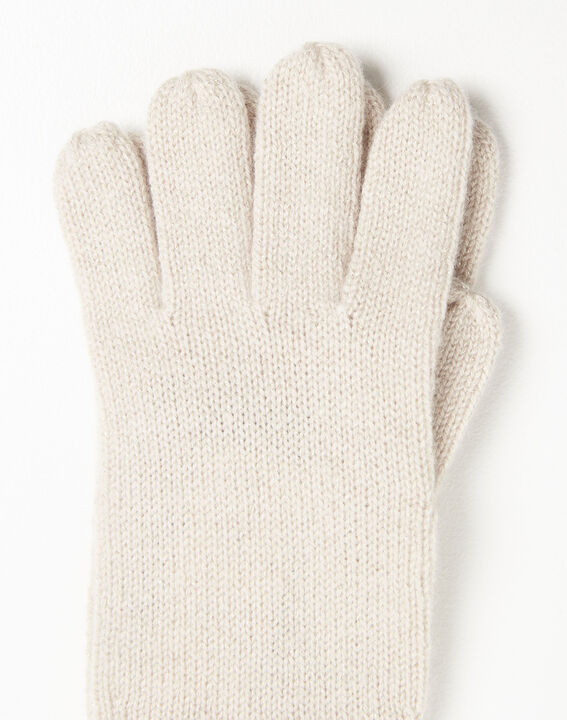 Ustavio pale pink cashmere gloves (3) - 1-2-3