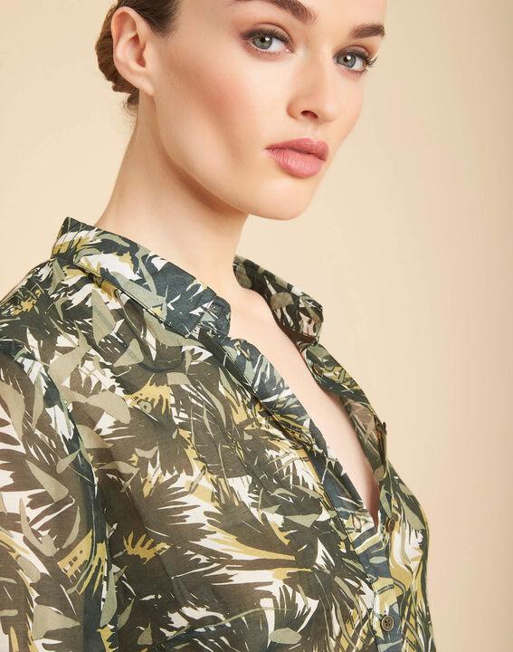 Ravel camouflage printed blouse PhotoZ   1-2-3