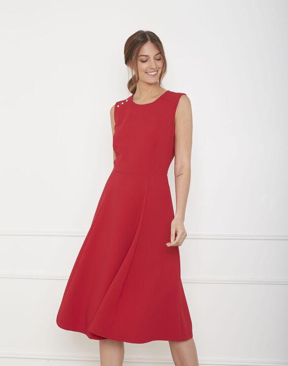 Rotes, ausgestelltes Kleid Hacena (1) - Maison 123