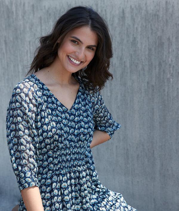Kleid mit Druckmuster Cindy PhotoZ | 1-2-3
