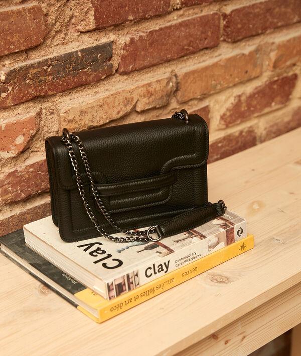 Le mini 123 noir en cuir PhotoZ | 1-2-3