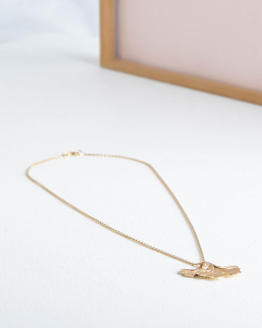 Orge golden leaf necklace (1) - 1-2-3