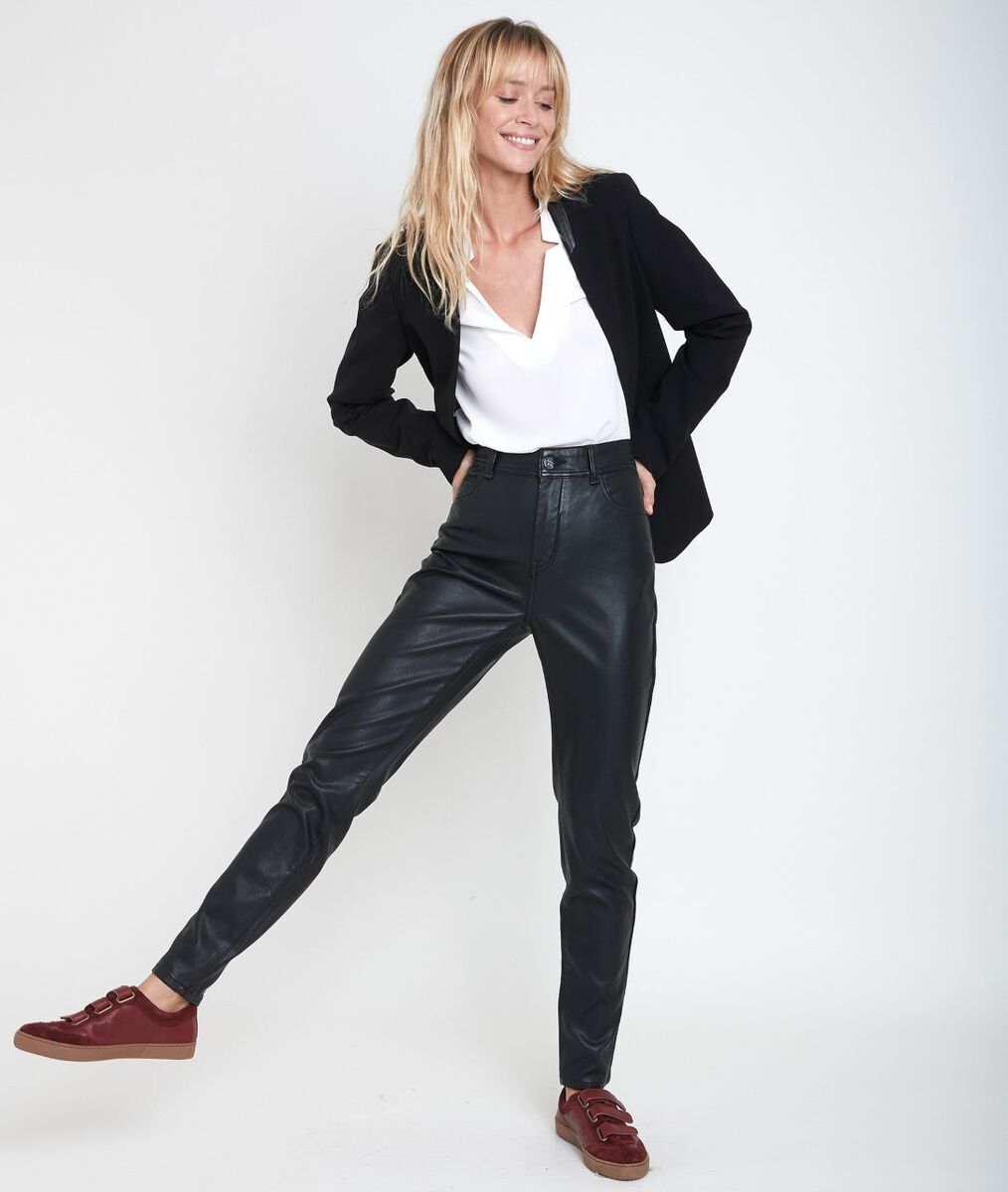 Pantalon faux cuir slim Malice PhotoZ | 1-2-3