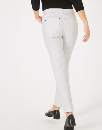Oliver white 7/8 length trousers (3) - 1-2-3