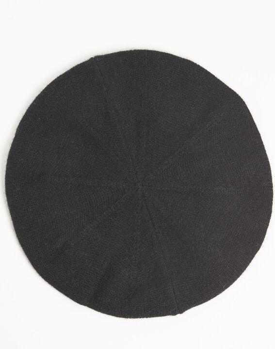 Beret noir en cachemire Ustave (3) - 1-2-3