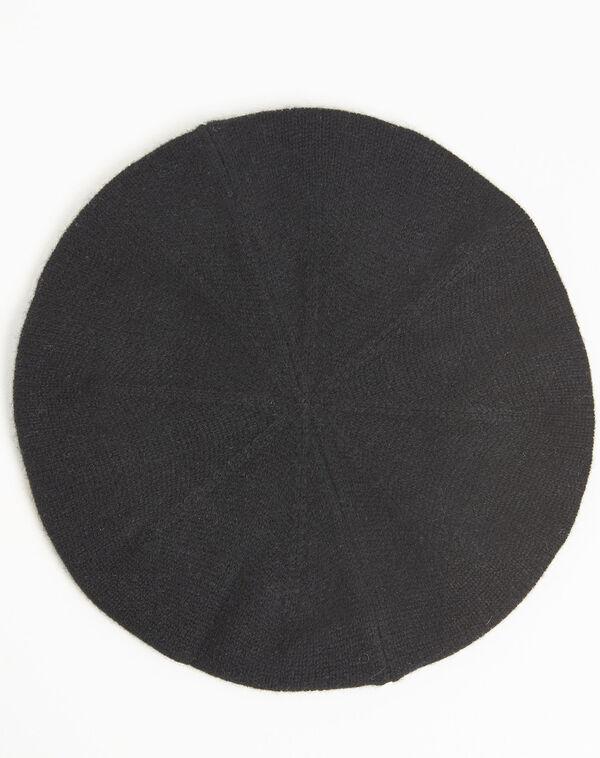 Beret noir en cachemire Ustave (2) - 1-2-3