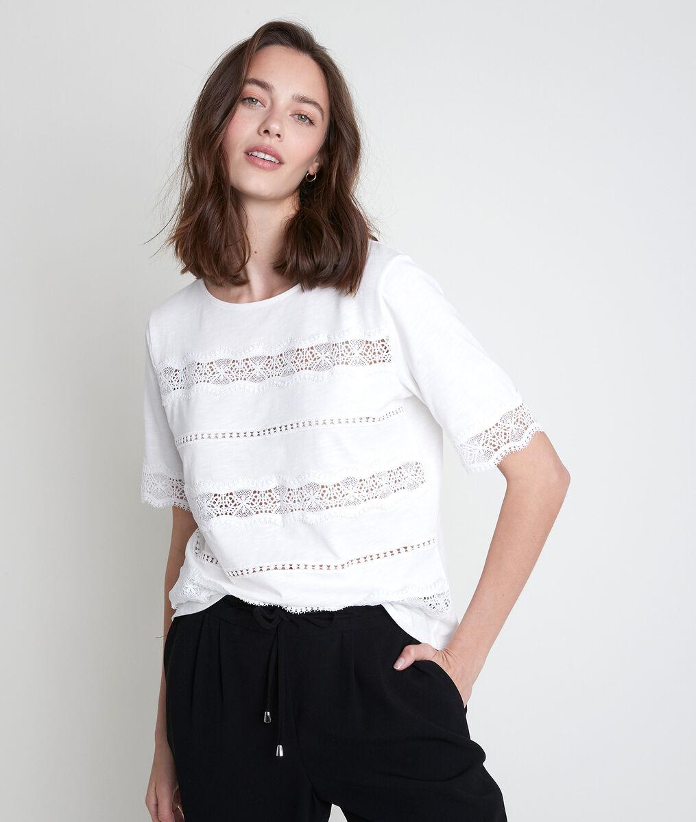 Tee-shirt en dentelle Ibelia PhotoZ | 1-2-3