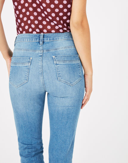Oliver 7/8 length bleached jeans (4) - 1-2-3