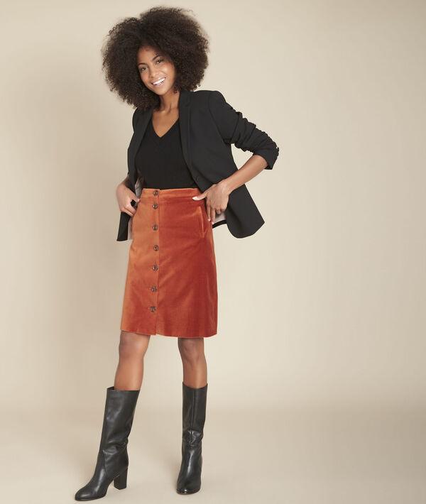 Pull en laine et cachemire noir Figuier PhotoZ | 1-2-3