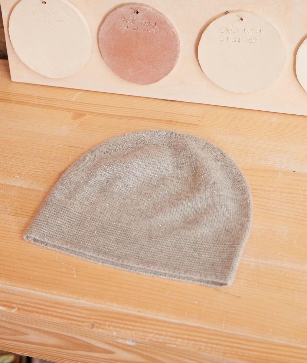 Bonnet en cachemire gris Urbain PhotoZ | 1-2-3