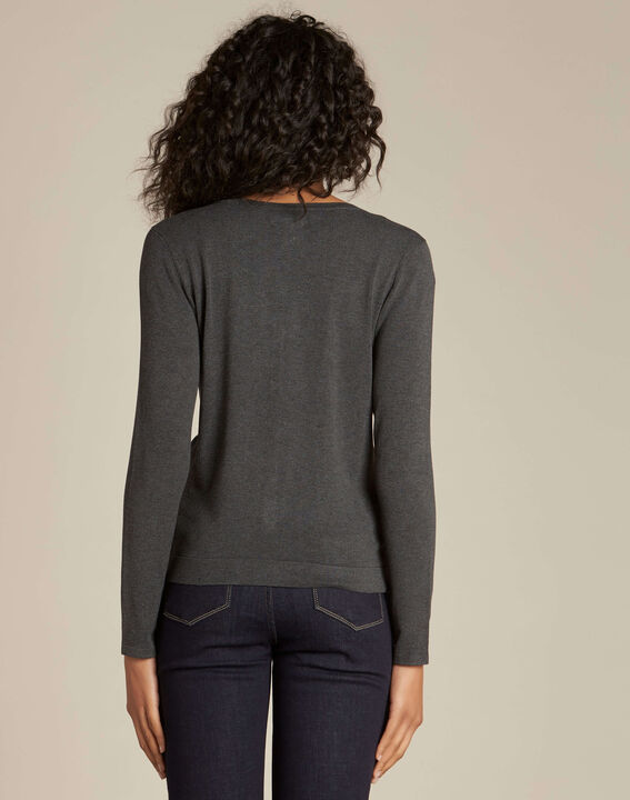 Nora grey embroidered cardigan (4) - 1-2-3