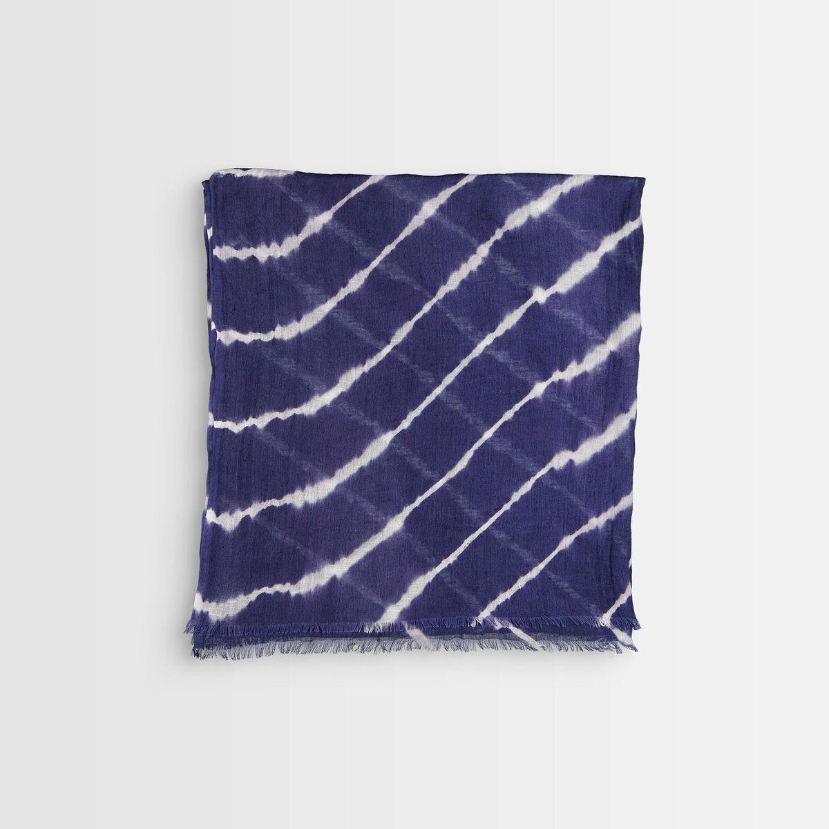 Foulard tie and dye marine Blake  PhotoZ | 1-2-3