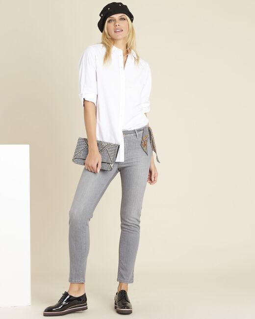 Chemise blanche longue en coton Colin (1) - 1-2-3